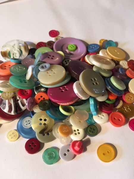 Beautiful buttons, waiting to be used