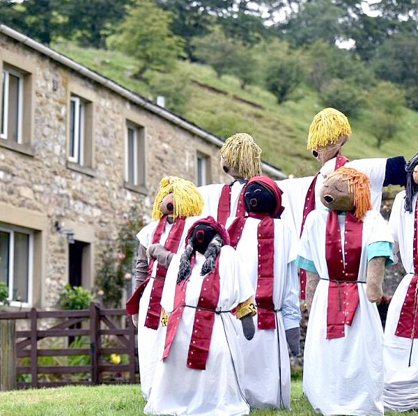 choir of scarecrows