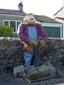 This scarecrow wants to know whether we can fix it? Yes we can!
