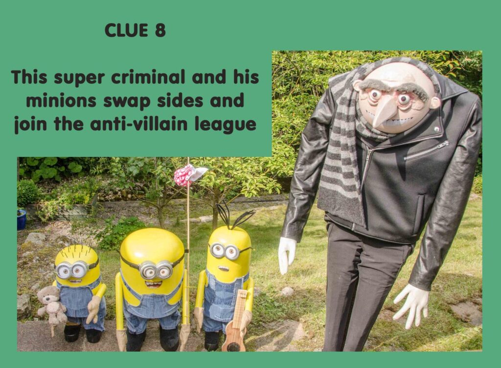 This super criminal and his minions swap sides and join the anti-villain league