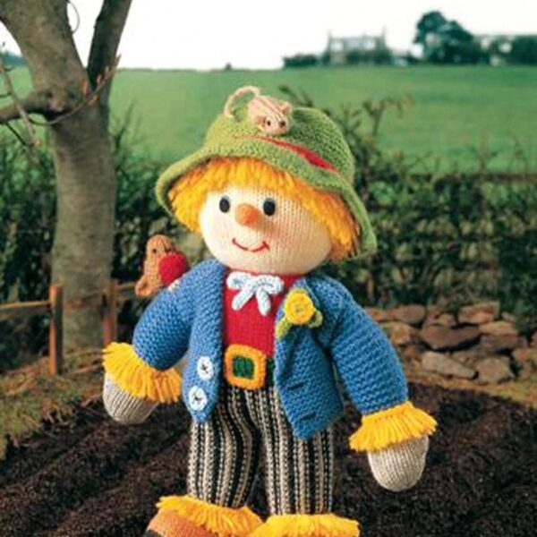 Knitted Scarecrow